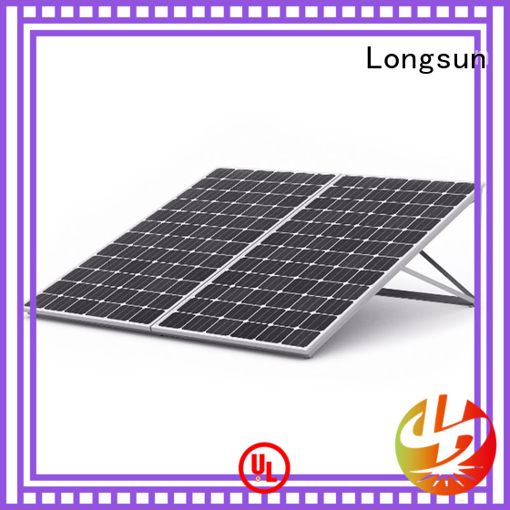 Longsun competitive price best solar panel company marketing for lamp power supply