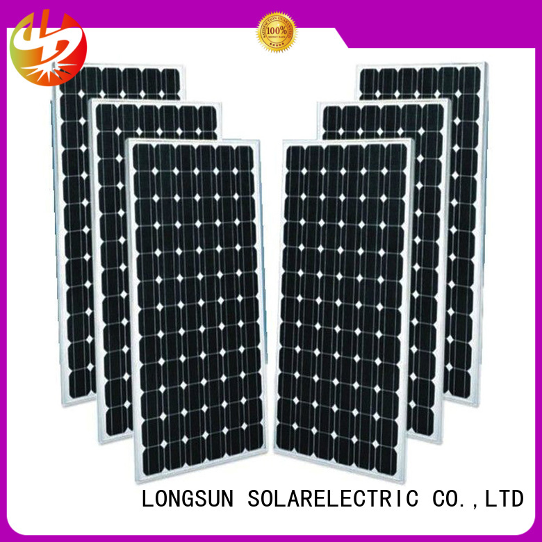 sturdy mono solar panel pv producer for space