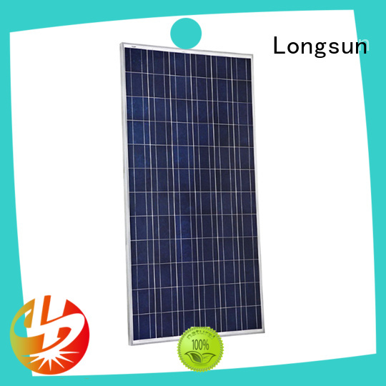 Longsun 340w high tech solar panels supplier for traffic field