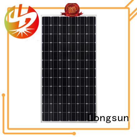 Longsun long-lasting high efficiency solar panels overseas market for traffic field