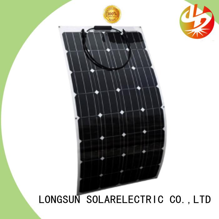 Longsun 120w advanced solar panels dropshipping for roof of rv