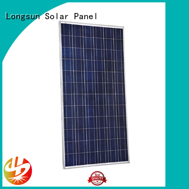 Longsun highout best solar panel company vendor for petroleum