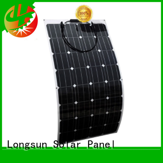 Longsun competitive price ETFE flexible solar panel semi for roof of rv