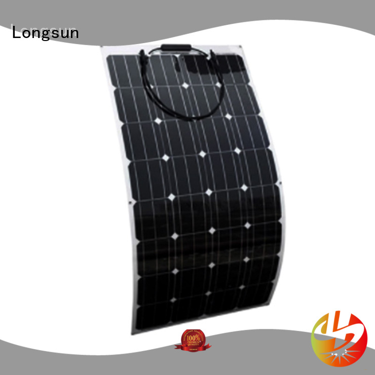 high-end semi flexible solar panel flexible marketing for roof of rv