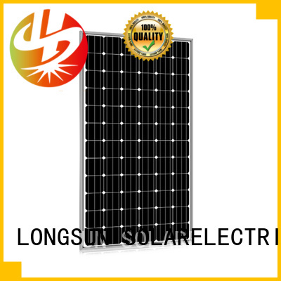 Longsun reliable high power solar panels manufacturer for powerless area