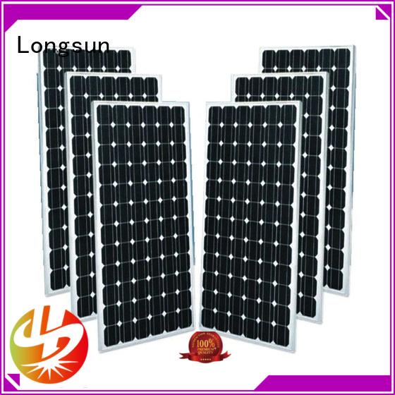 Longsun sturdy mono solar panel price monosolar for ground facilities