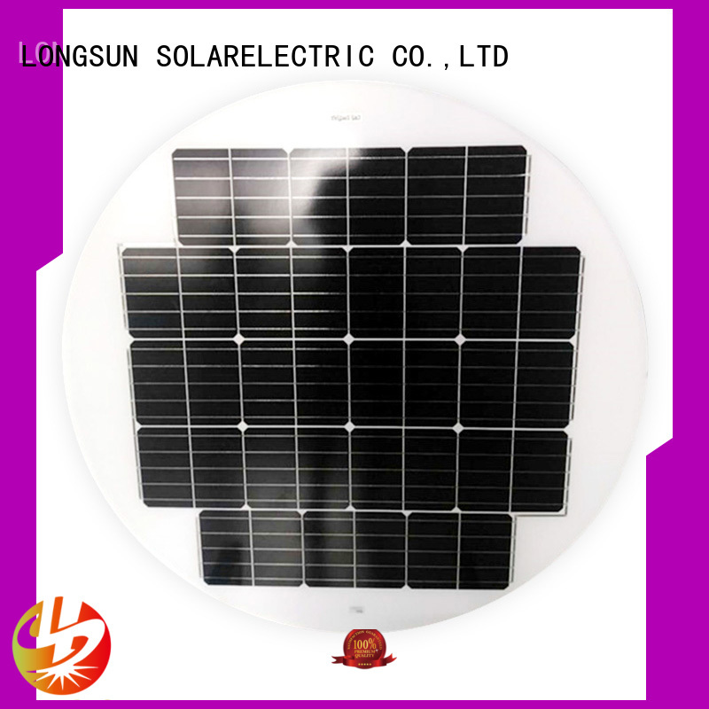 Longsun 60w solar power panels to decorative for other Solar applications