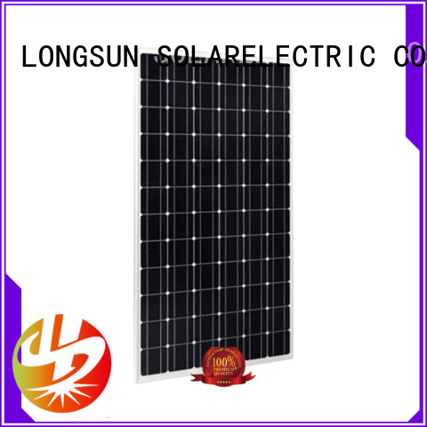 solar high capacity solar panels overseas market for lamp power supply Longsun