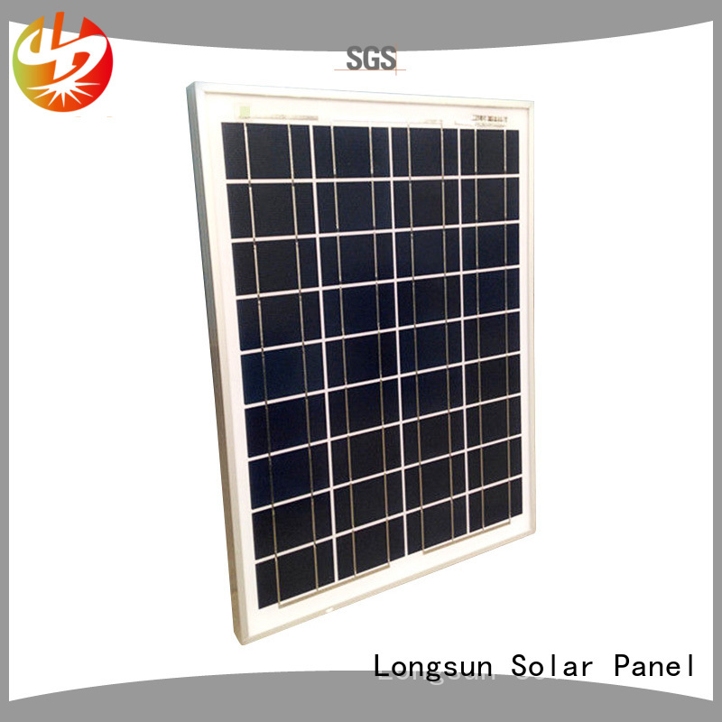 Longsun long-life poly solar module order now for communications