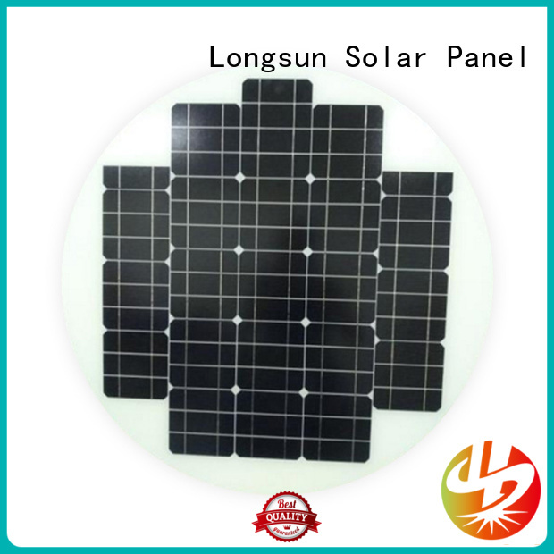 Longsun durable round solar panels dropshipping for other Solar applications