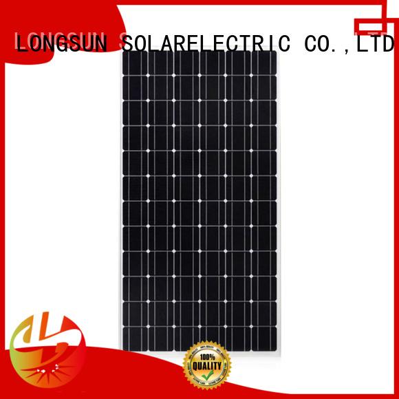 waterproof monocrystalline solar module panel overseas market for ground facilities