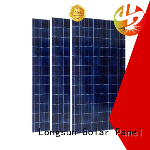 Longsun monocrystalline highest watt solar panel manufacturer for photovoltaic power station