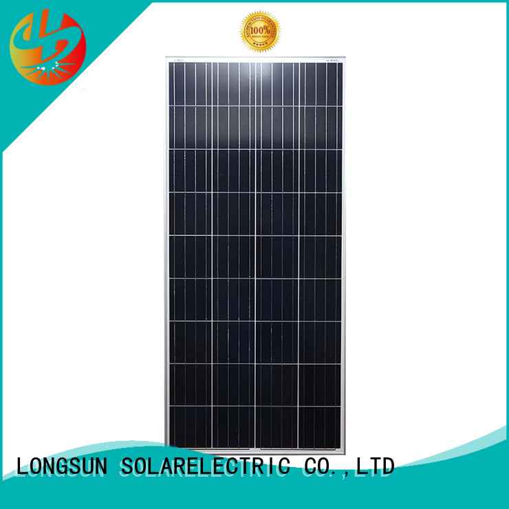 Longsun long-life polycrystalline solar panel owner for solar lawn lights