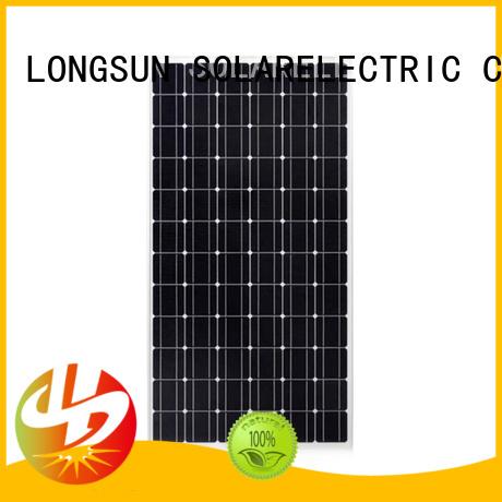 Longsun panel monocrystalline solar panel overseas market for space