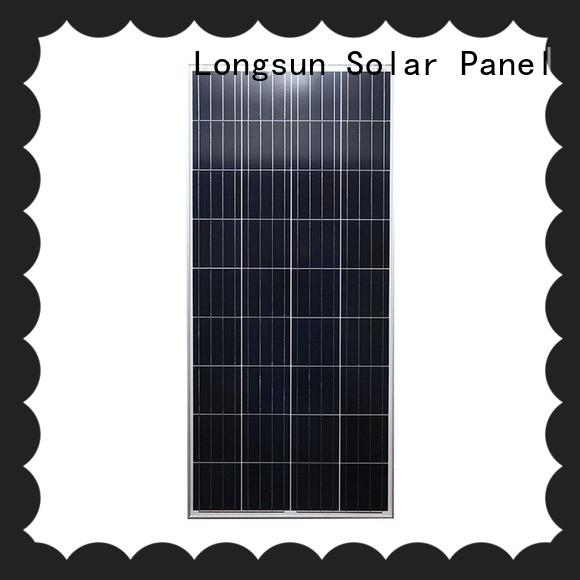 poly lightweight solar panels longsunsolar for communications Longsun