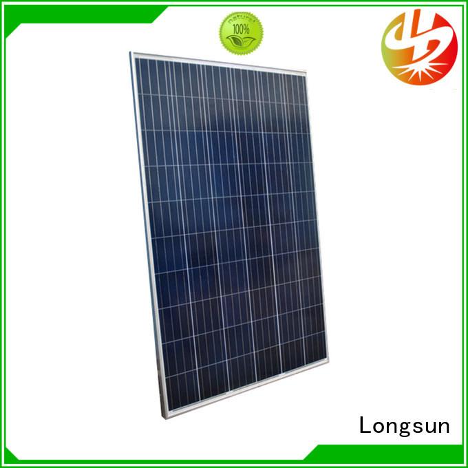 340w high output solar panel for traffic field Longsun