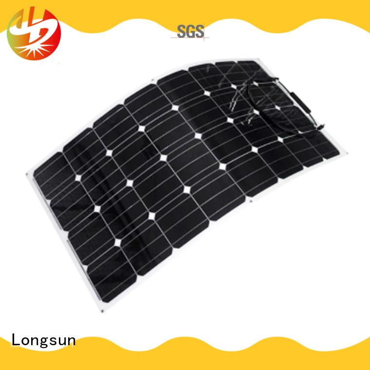 Longsun eco-friendly semi-flexible solar panel vendor for yachts