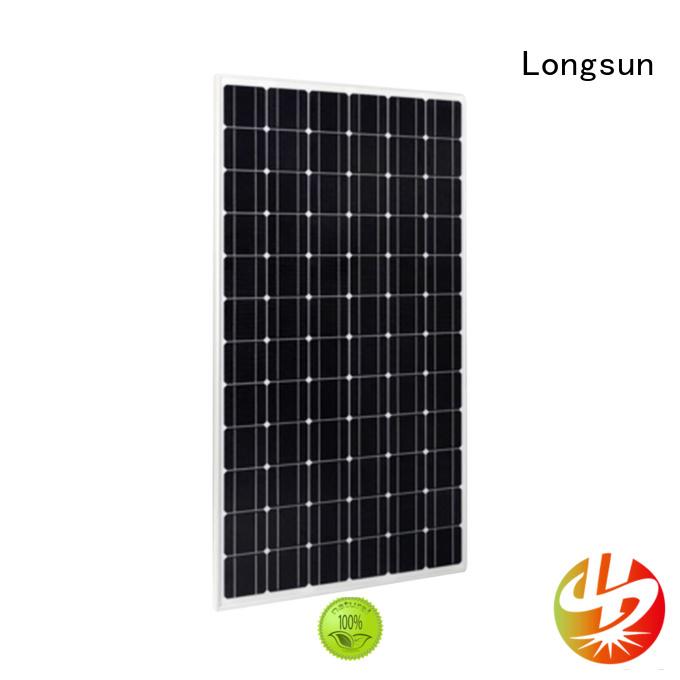 Longsun panels sunpower solar panels manufacturer for traffic field
