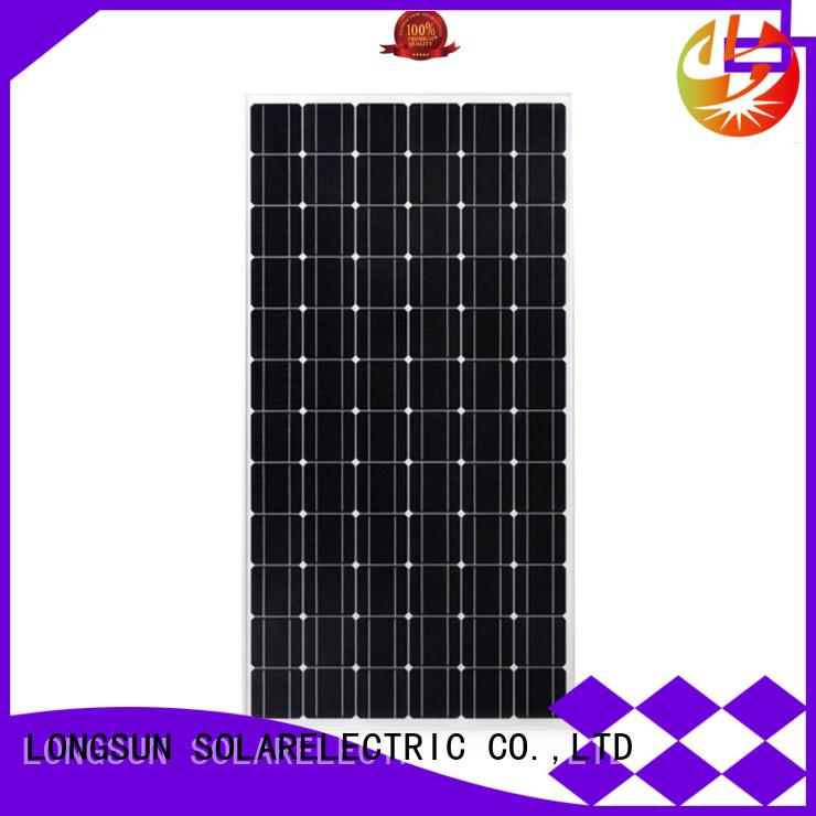 Longsun sturdy solar panel manufacturers overseas market for ground facilities
