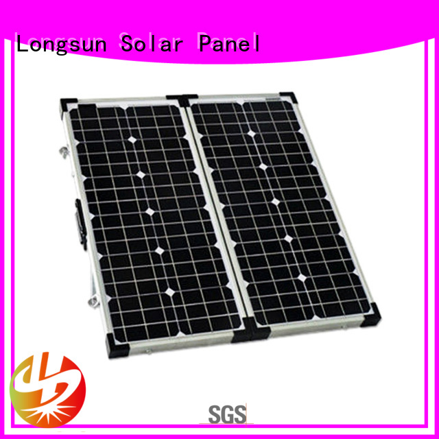Longsun yeas foldable solar panel overseas market for recreational activitie