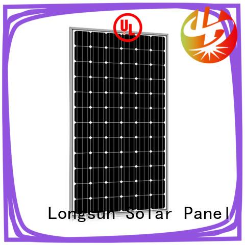Longsun 285w highest watt solar panel customized for traffic field