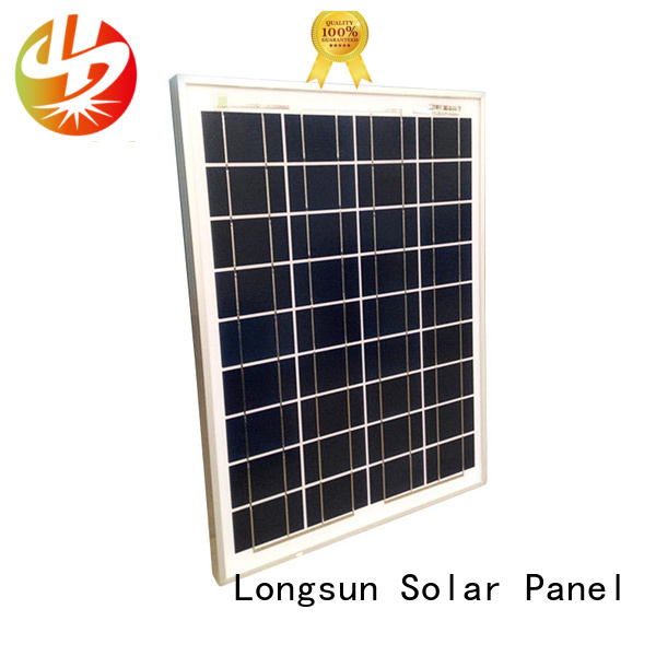 Longsun solar polycrystalline solar panel owner for aerospace