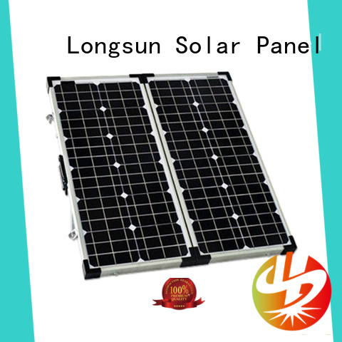 Longsun high quality best foldable solar panel wholesale for boating