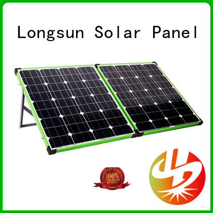 Longsun charger best foldable solar panel overseas market for caravaning