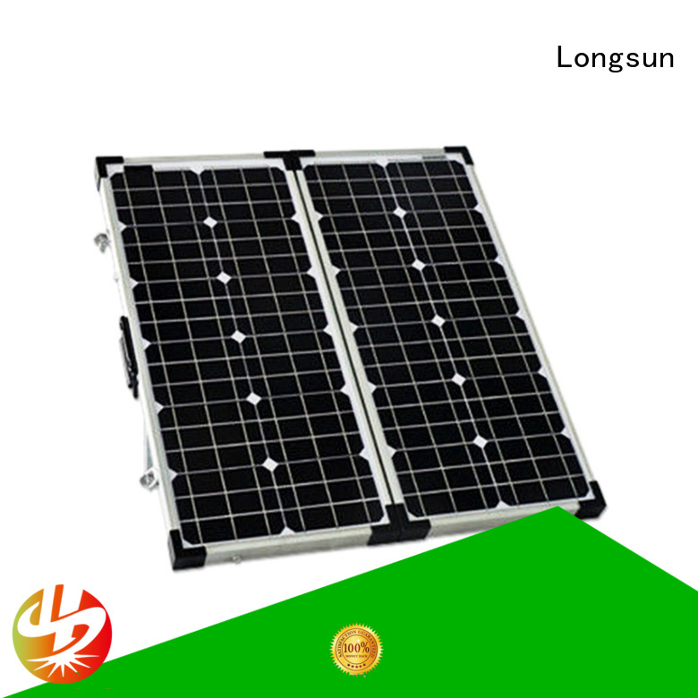 Longsun high-end folding solar panels directly sale for recreational activitie