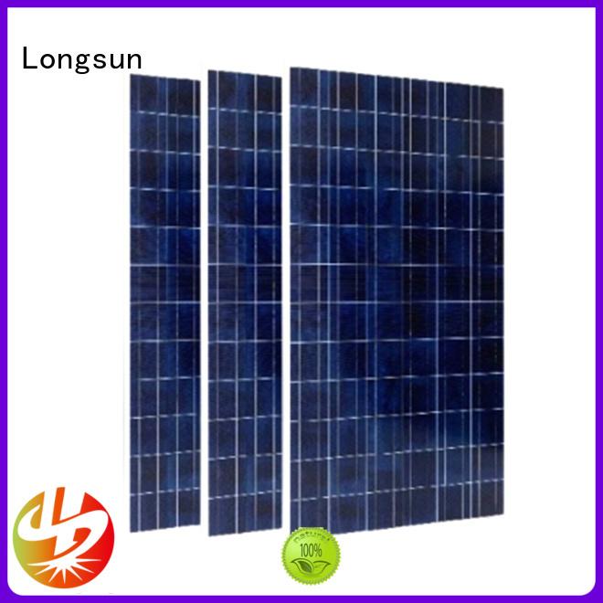 Longsun professional powerful solar panels customized for petroleum