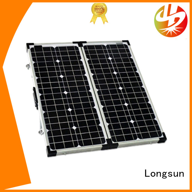 Longsun portable best foldable solar panel factory price for 4WD
