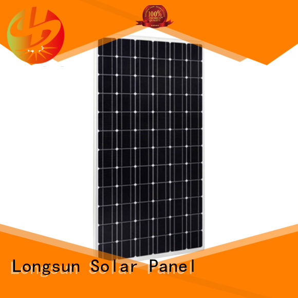 series high watt solar panel overseas market for powerless area