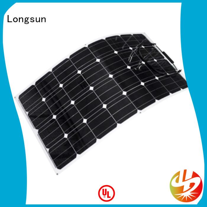 Longsun semi semi-flexible solar panel dropshipping for boats