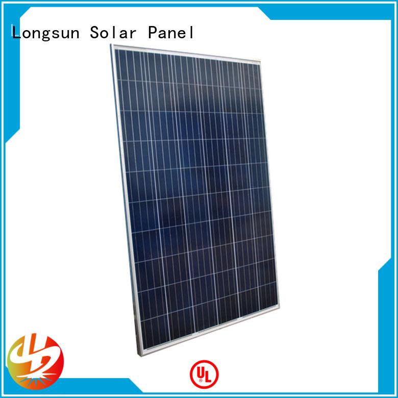 Longsun highout powerful solar panels supplier for meteorological