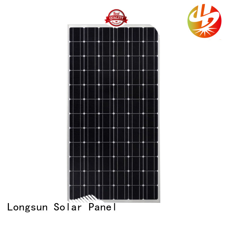 Longsun online commercial solar panels overseas market for photovoltaic power station