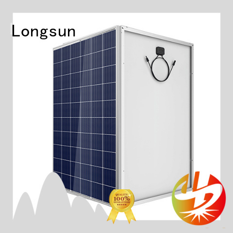 Longsun monocrystalline high watt solar panel manufacturer for communication field