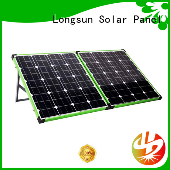 Longsun eco-friendly foldable solar panel factory price for camping