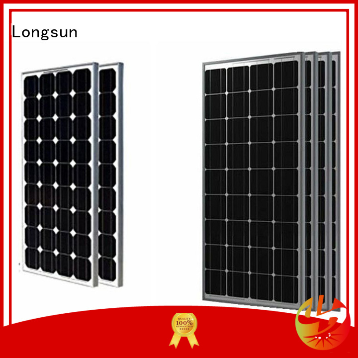 Longsun widely used high tech solar panels customized for communication field