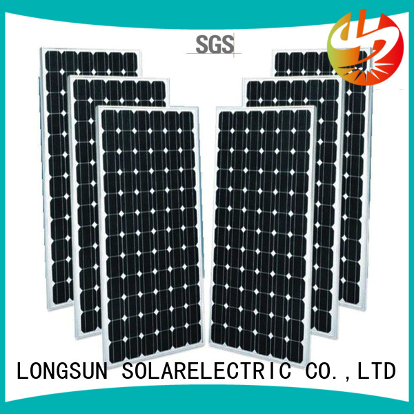 Longsun module mono solar panel factory price for ground facilities
