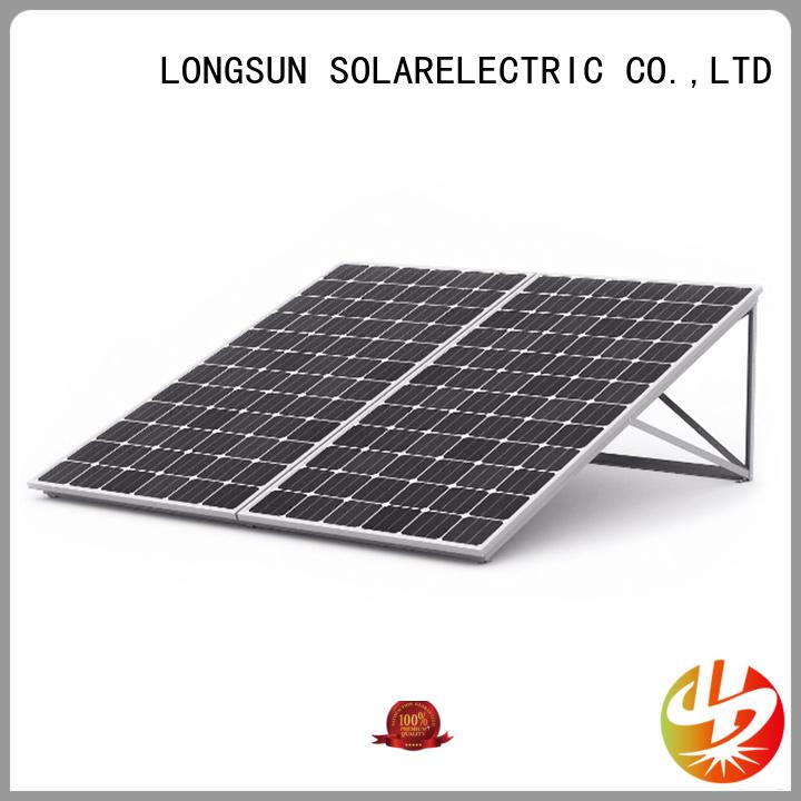 Longsun professional high watt solar panel overseas market for traffic field