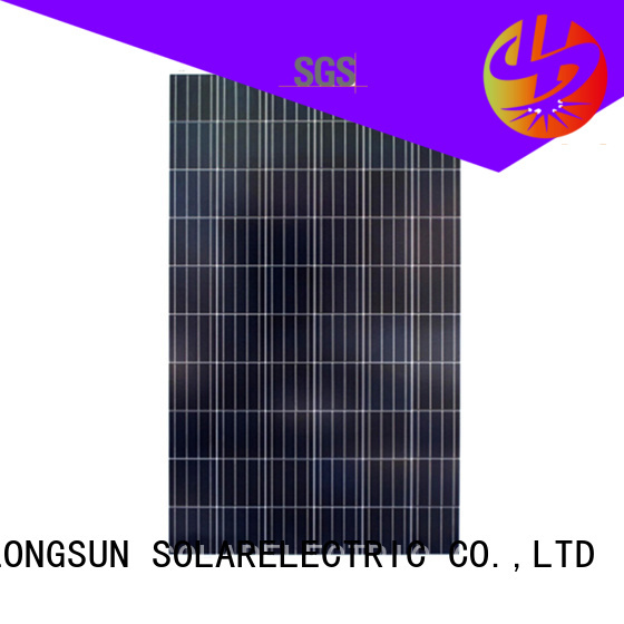 Longsun module poly solar panel directly sale for solar street lights