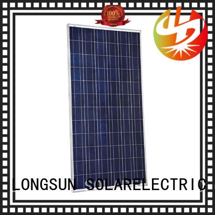 Longsun long-lasting highest rated solar panels wholesale for petroleum