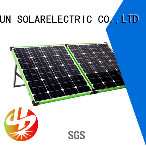 eco-friendly best foldable solar panel kits wholesale for boating