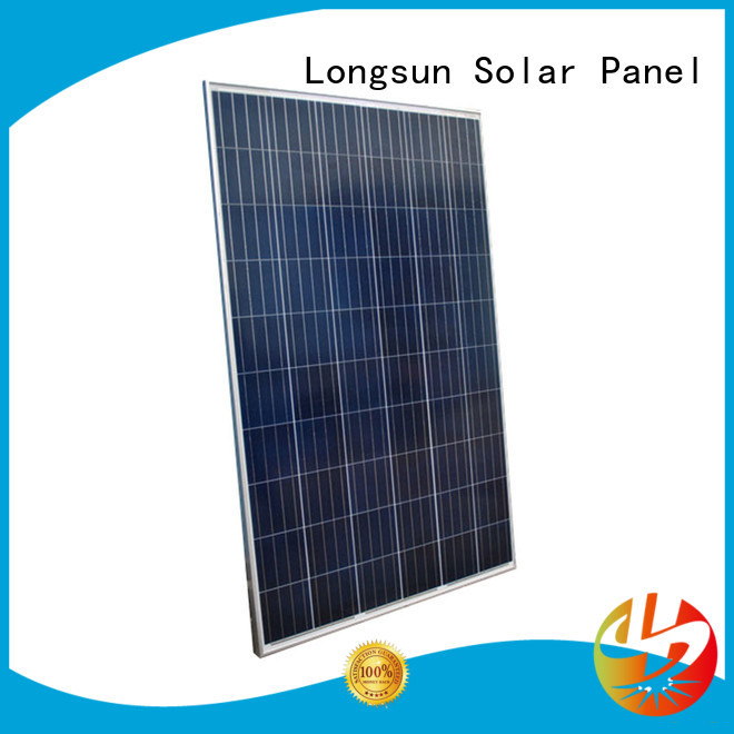 Longsun competitive price high output solar panel series for meteorological