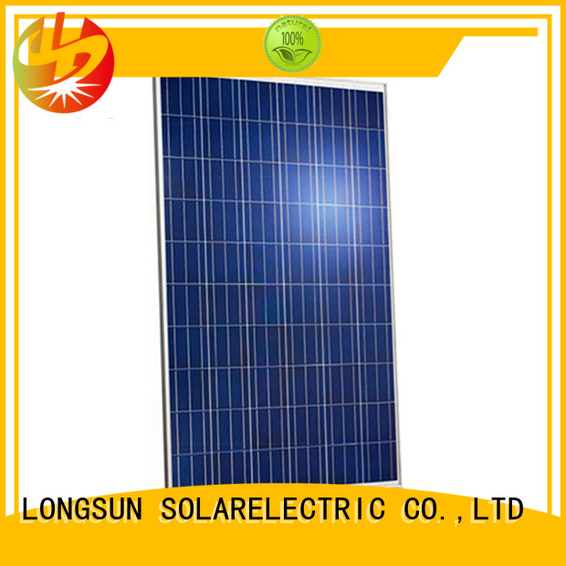 Longsun professional high output solar panel series for traffic field