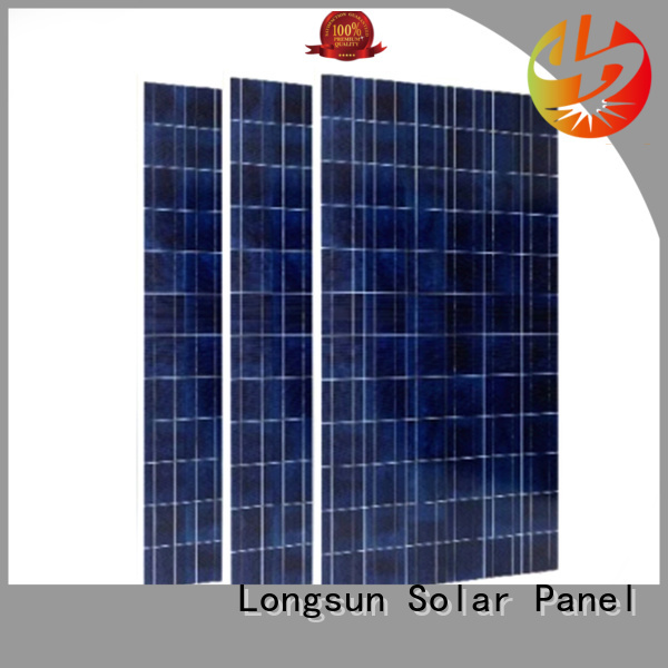 solar highest rated solar panels customized for powerless area Longsun