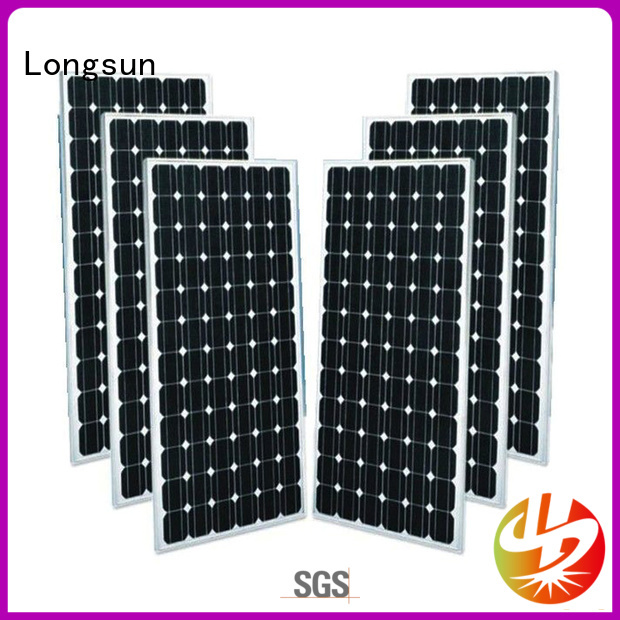 300wpmono monocrystalline solar panel dropshipping for space Longsun