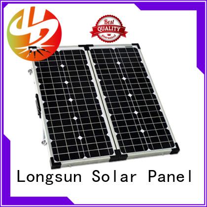 Longsun portable solar panels producer for boating