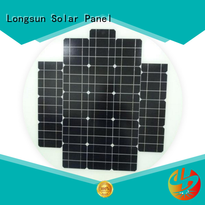 Longsun 60w solar cell panel to decorative for other Solar applications