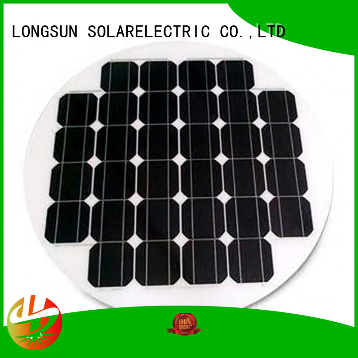 Longsun good to use circle solar panel customized for Solar lights